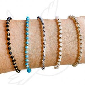 Bracelets | 3mm Pattern Swarovski Crystal