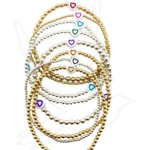 Bracelets | Flat Hearts