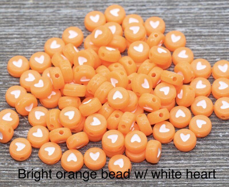 orangebeadwhiteheart