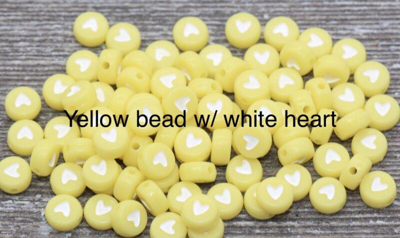 yellowbeadwhiteheart