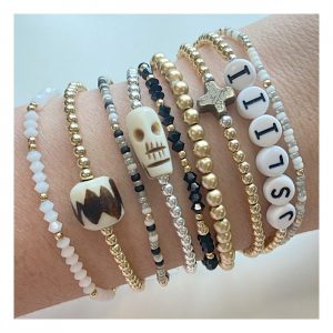 Bracelet   Black and White Vibes