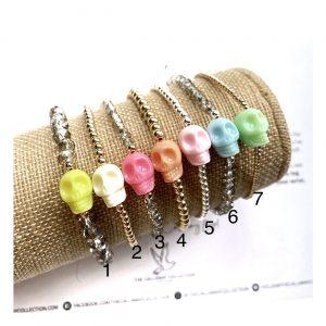 Bracelet | Pastel Skulls