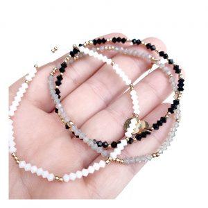 Bracelet | 3mm Organic Swarovski Crystal