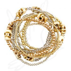 Bracelet   Boho Bone Skull
