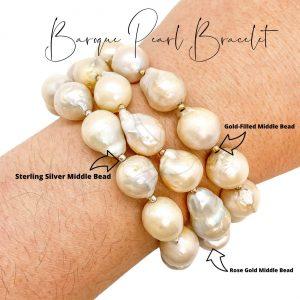 Bracelet   Baroque Pearl