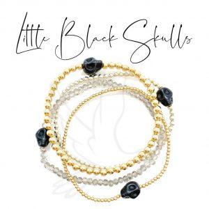 Bracelets   Little Black Skulls