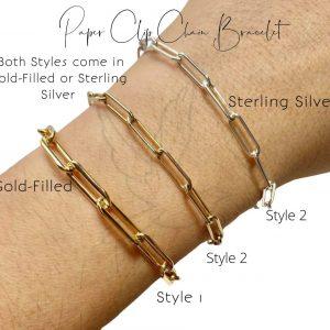 Bracelet | Paper Clip Chain