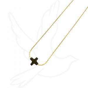 Necklace | Pyrite Cross
