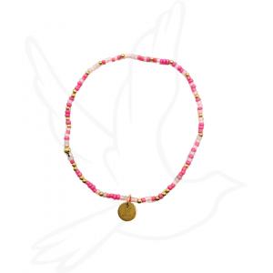 Bracelet | Shades of Pink ( awareness/remembrance)